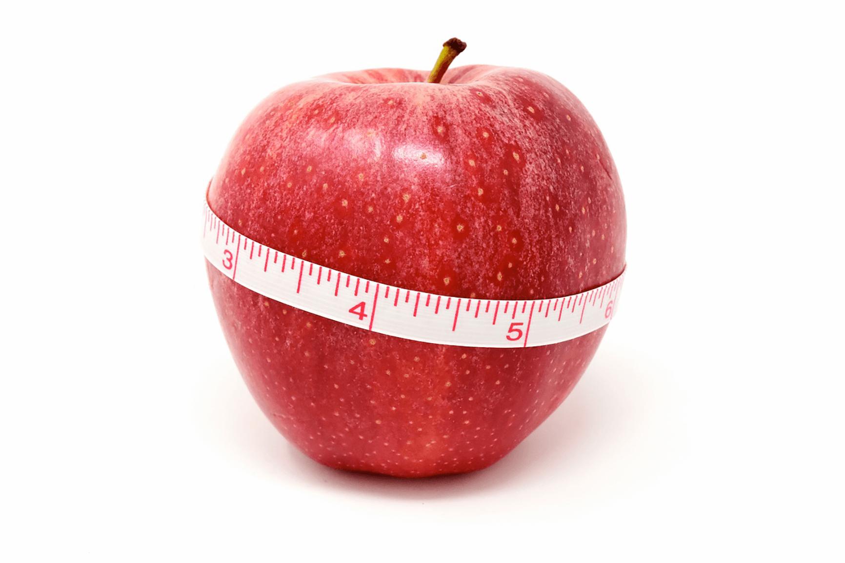 Kalorien zaehlen Apfel